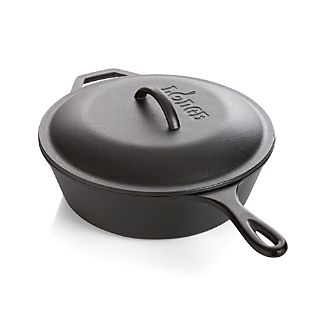 Lodge® Cast Iron Deep Skillet