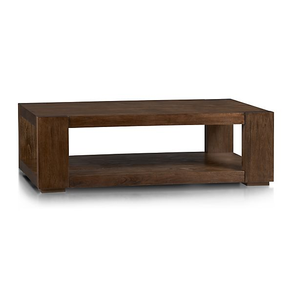 Lodge Coffee Table In Coffee Tables Side Tables Crate And Barrel
