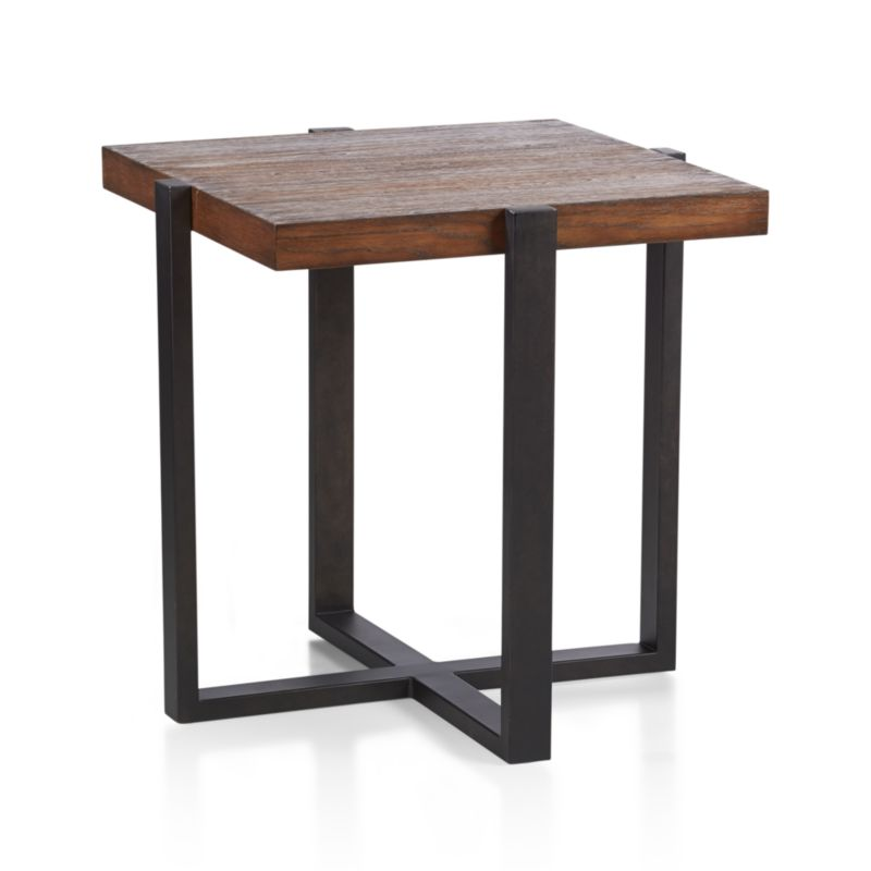 lodge side table in coffee tables side tables crate