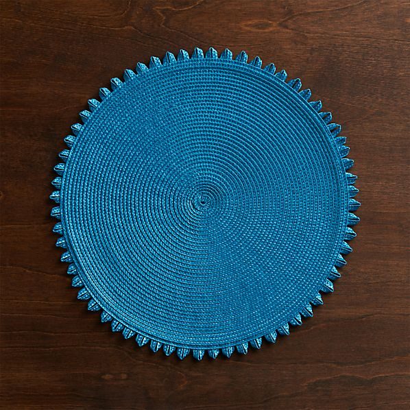 Loopdedoo Azure Placemat