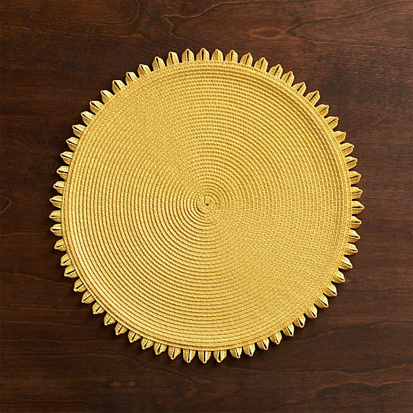 Loopdedoo Lemon Placemat