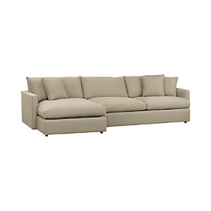 sectional sofas sectionals crate and barrel