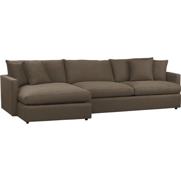 Sectional Sofas: Leather And Fabric