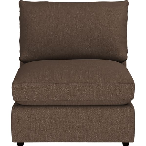 "Lounge 32"" Sectional Armless Chair"