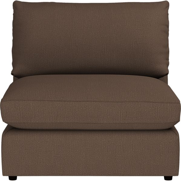 "Lounge 37"" Sectional Armless Chair"