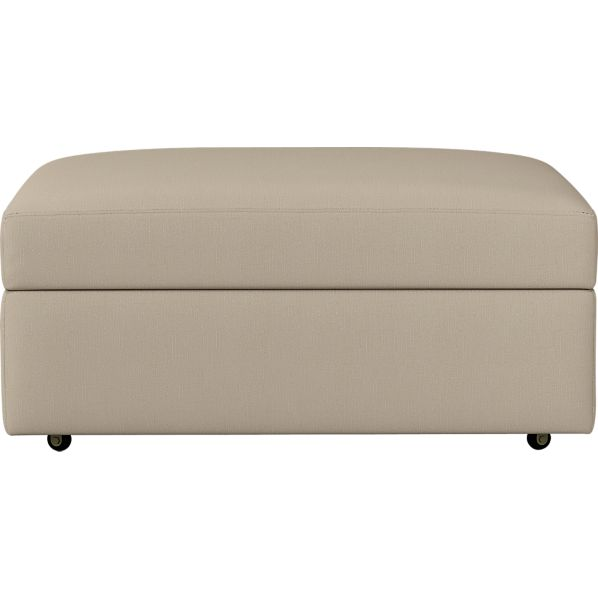 "Lounge 37"" Ottoman with Casters"