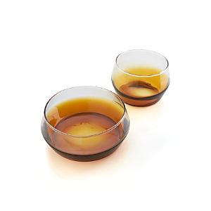 Lounge Amber Bowls