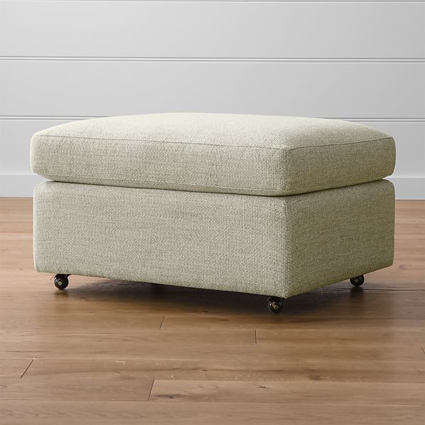 "Lounge II 32"" Ottoman with Casters"