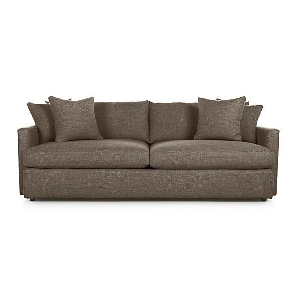 lounge ii 93 sofa truffle crate and barrel