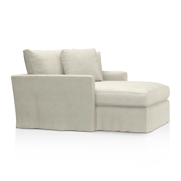 Lounge Slipcovered Chaise