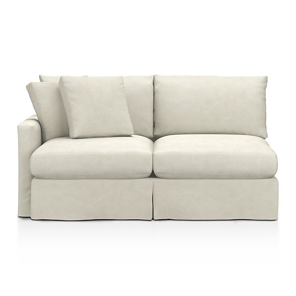 Slipcover Only for Lounge Left Arm Sectional Apartment Sofa