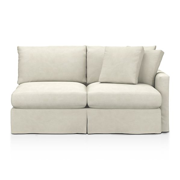 Slipcover Only for Lounge Right Arm Sectional Apartment Sofa