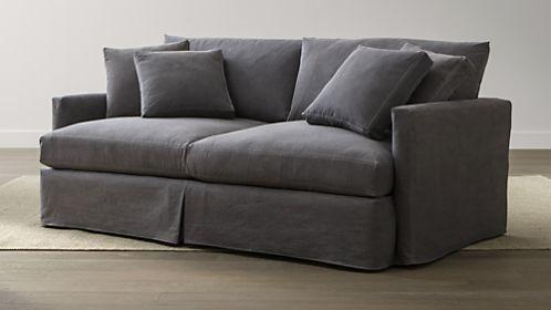 "Lounge 83"" Slipcovered Sofa"