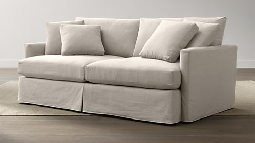 "Lounge 83"" Slipcovered Sofa"