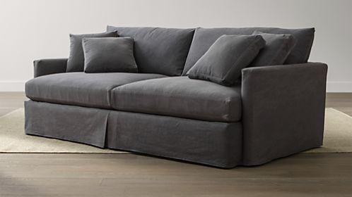 "Lounge 93"" Slipcovered Sofa"