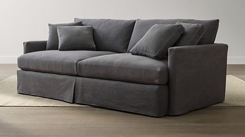 "Lounge 93"" Slipcovered Sofa"