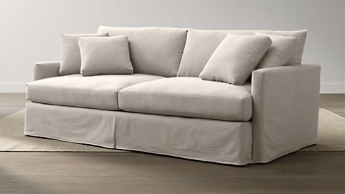"Lounge Slipcovered 93"" Sofa"