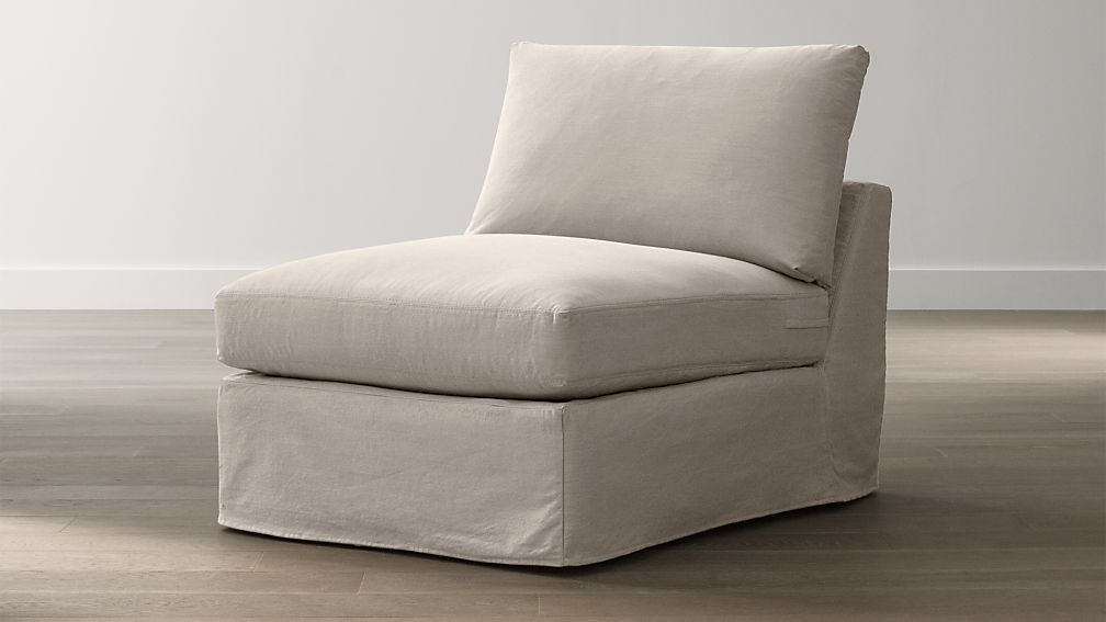 "Slipcover Only for Lounge 32"" Armless Chair"