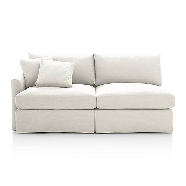 Lounge Slipcovered Left Arm Sofa