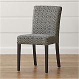 Lowe Diamond Fabric Side Chair