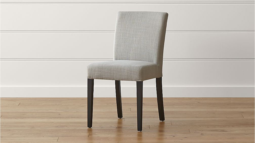 Lowe Pewter Upholstered Dining Chair in Dining Chairs ...