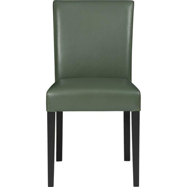Lowe Fern Leather Side Chair