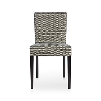 Lowe Diamond Fabric Side Chair
