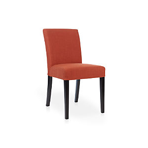 Lowe Persimmon Fabric Side Chair