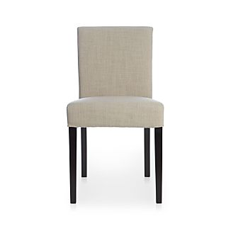 Lowe Pewter Fabric Side Chair