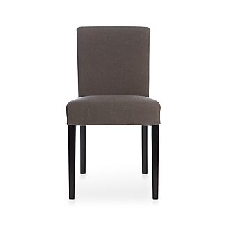 Lowe Smoke Fabric Side Chair