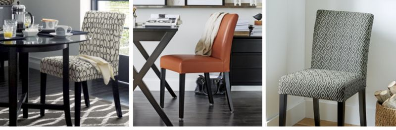 Parsons Dining Chairs Bar Stools Amp Benches Crate And Barrel