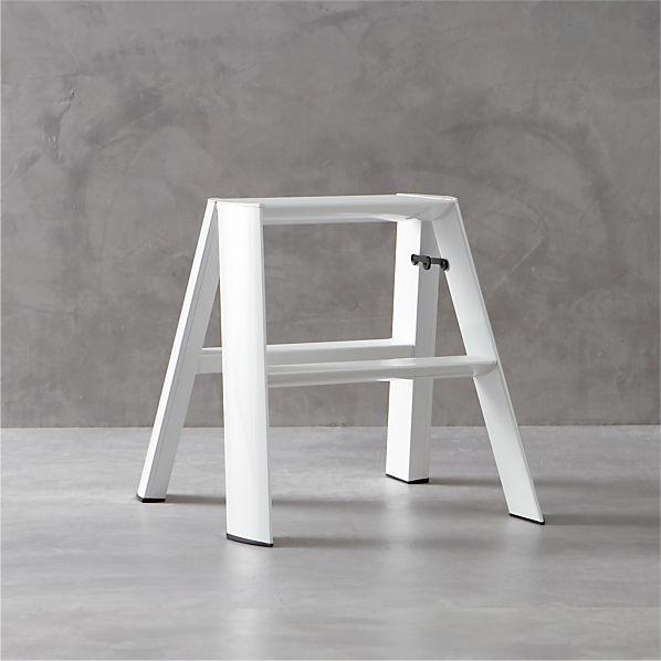 Hasegawa ® Lucano White 2-Step Stool