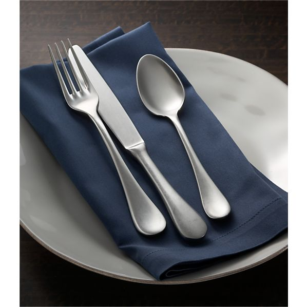 Lucca 2-Piece Serving Set in Flatware Patterns | Crate and Barrel