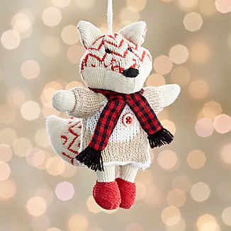 Lucy the Fox Ornament