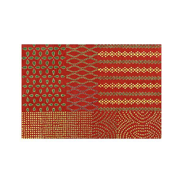 Lula Orange 6'x9' Rug