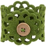 Lulea Green Napkin Ring