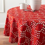 "Lumi Batik 60"" Round Tablecloth"