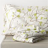 Marimekko Lumimarja Celery Queen Sheet Set