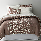 Marimekko Lumimarja Taupe Full/Queen Duvet Cover.