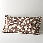 Marimekko Lumimarja Taupe King Sham.