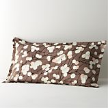 Marimekko Lumimarja Taupe King Sham