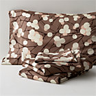 Marimekko Lumimarja Queen Sheet Set. Taupe. Includes one flat sheet, one fitted sheet and two standard pillowcases.