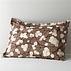 Marimekko Lumimarja Taupe Standard Sham.