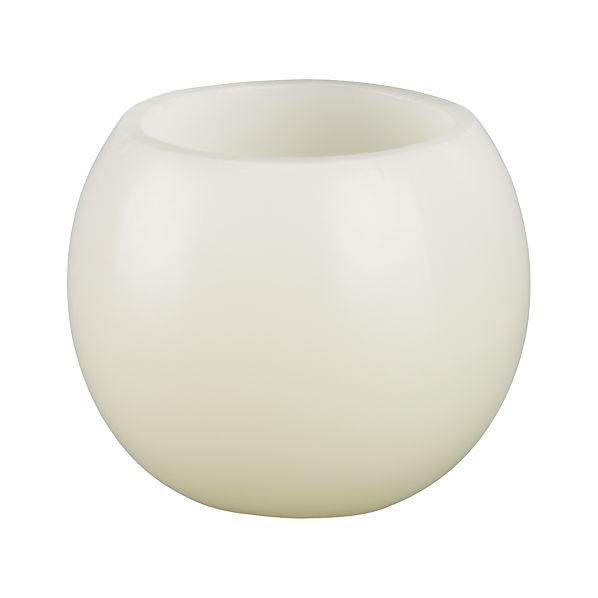 Luminary Small White Candle