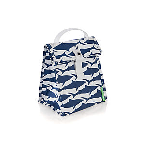 LunchSkins Sharks Lunch Tote