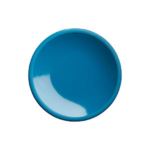 "Lunea Melamine Teal 6"" Appetizer Plate"