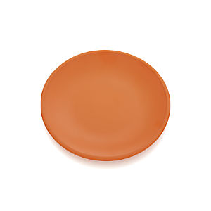 Lunea Melamine Orange Dinner Plate