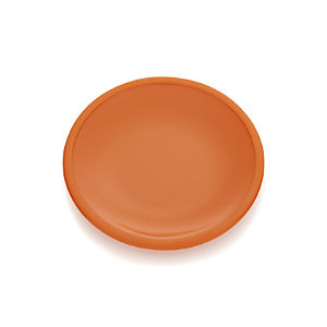 Lunea Melamine Orange Appetizer Plate