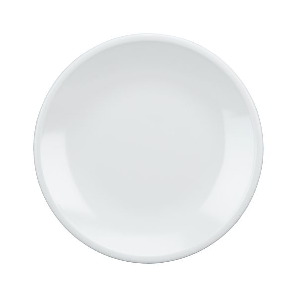 "Set of 4 Lunea Melamine White 8.5"" Salad Plates"