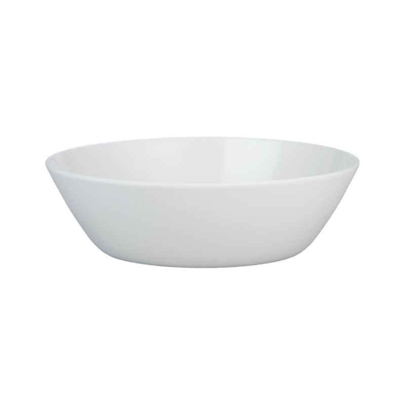 "Lunea Melamine White 11.75"" Serving Bowl"